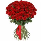 "Букет ""51 красная роза премиум"""